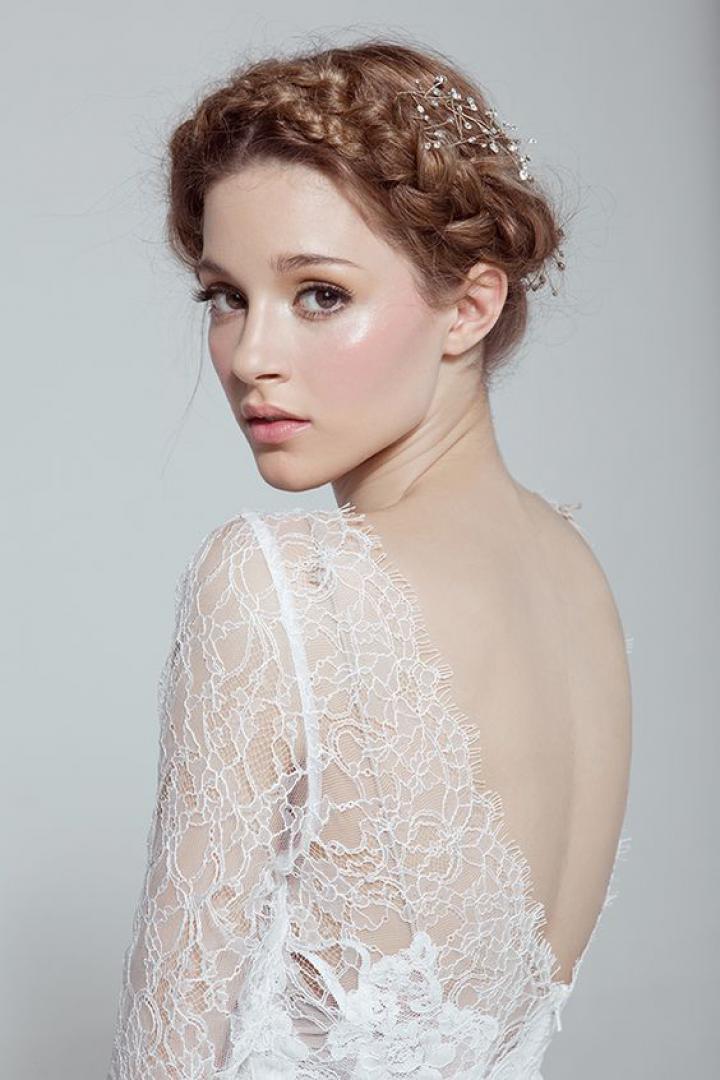 Свадебный макияж нюд