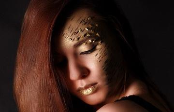 Арт-визаж Golden Girl