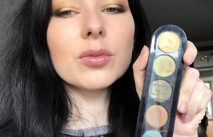 профессиональный дневной макияж
