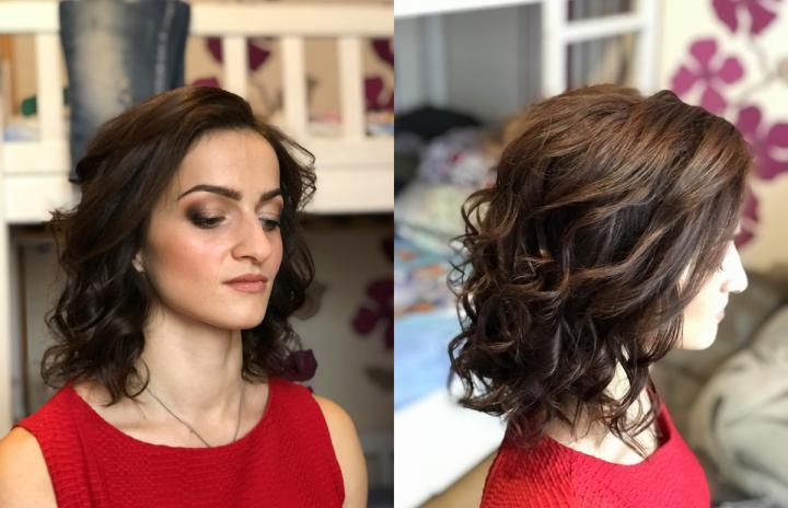 макияж и прическа киев недорого