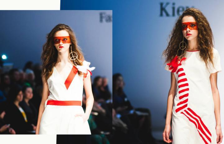 макияж на mercedes benz kiev fashion days