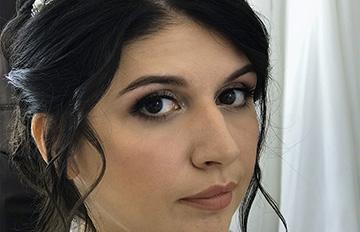 акварельная техника в свадебном макияже