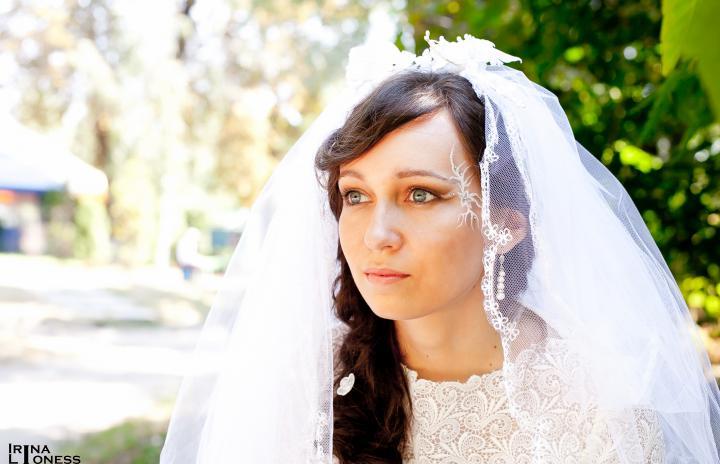 свадебный образ ретро