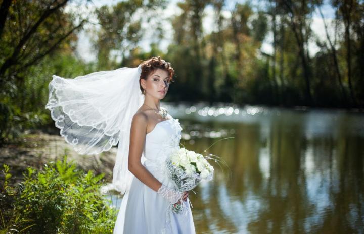макияж в день свадьбы
