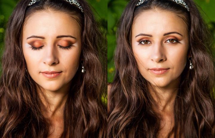свадебный макияж, визажист Инна Мокрова