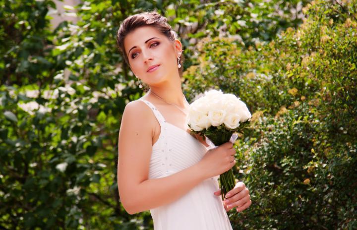 идея для образа невесты