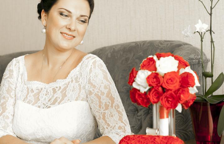 макияж невесты фото