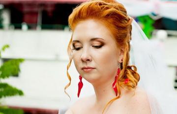 макияж невесты украинский стиль