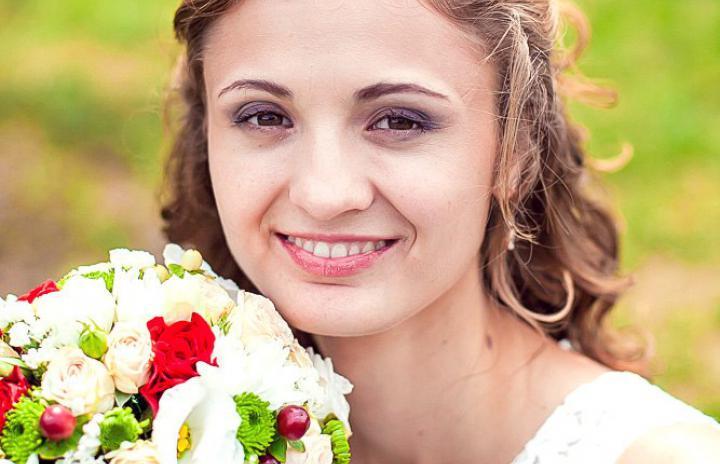 ретро образ свадьба