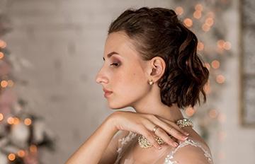 макияж петля на свадьбу