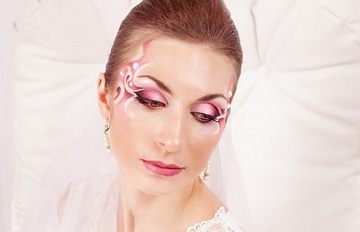 wedding make-up by Inna Mokrova