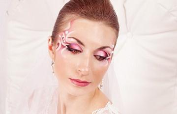 wedding make-up by Inna Mokrova