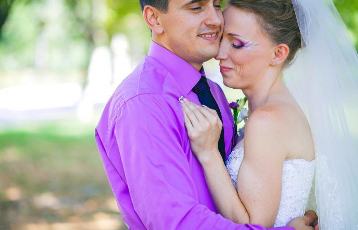 свадебный макияж рисунок