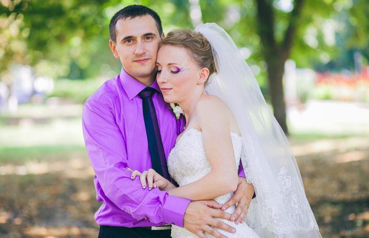 нестандартный образ невесты