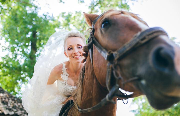 контрастный макияж на свадьбу