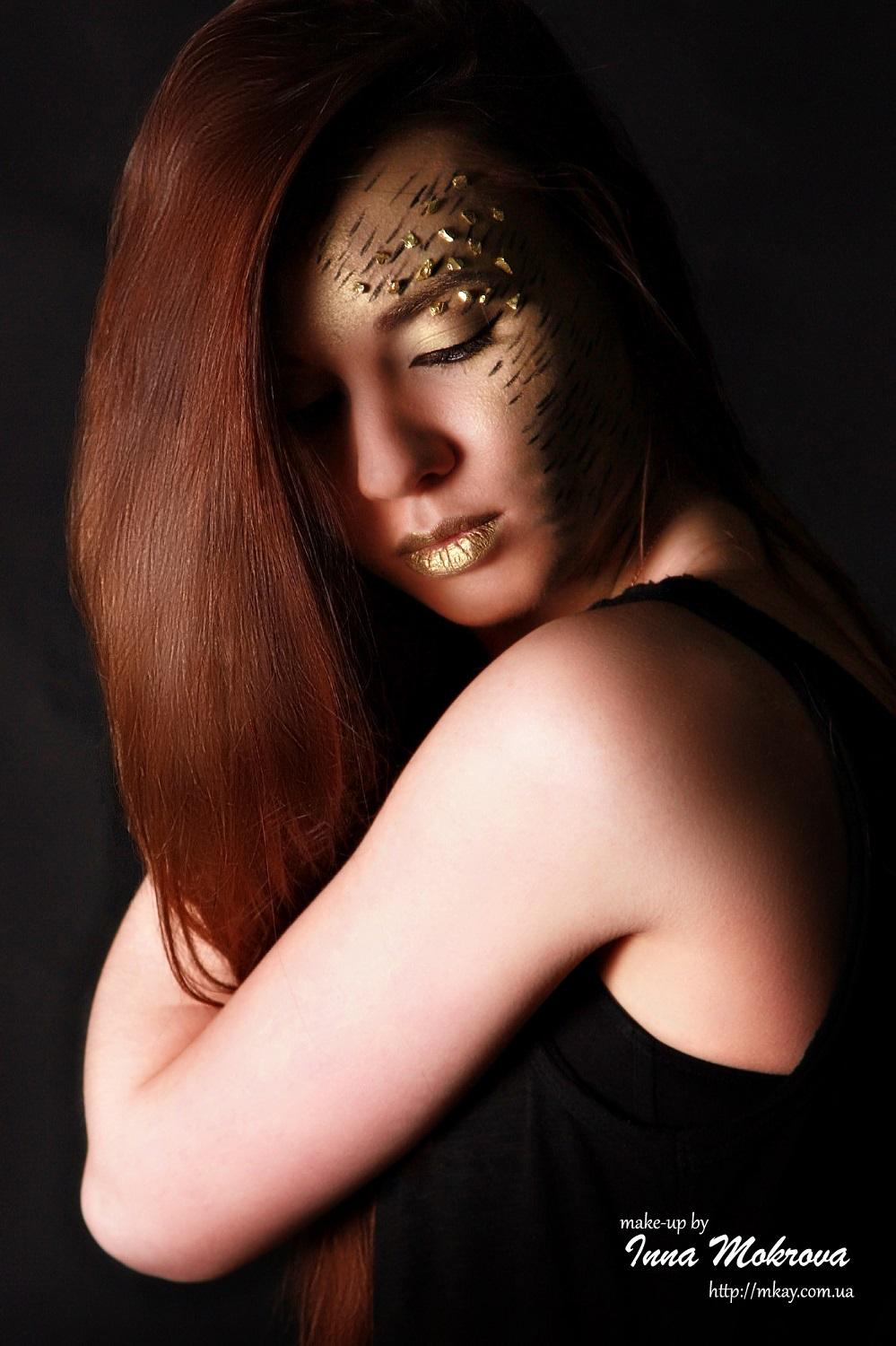 "Art-visage ""Golden Girl"" by Inna Mokrova"